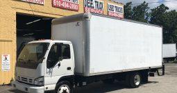 2007 Isuzu NQR 20′ Box Truck with Liftgate