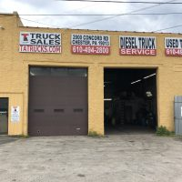 TA Truck Sales Entrance to Parts and Service