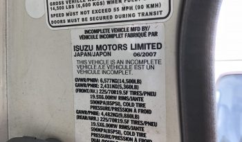 2007 Isuzu 15 Yard Dump Truck full