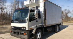 1999 Isuzu FTR 18′ Refrigerated Truck-Stick Shift Transmission