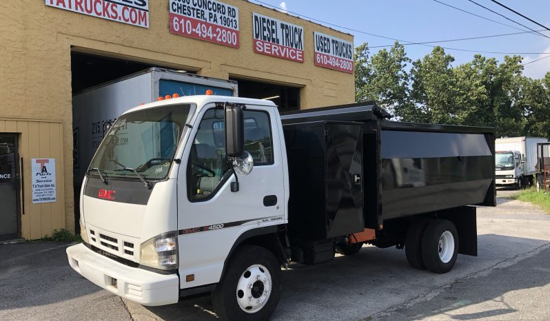 GMC Dump Truck with tool box full