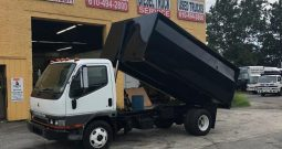 Mitsubishi 14 Yard Dump Truck