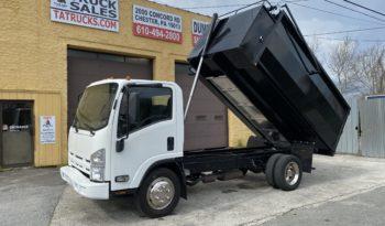 2012 Isuzu 15 Yard Junk Hauler Dump Truck with 6.0 Gas Engine full