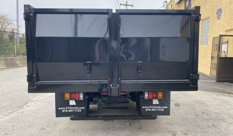 Isuzu NPR New 12 Foot Solid Side Dump Truck full