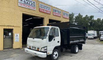 2007 Isuzu NPR 15 Yard Dump Truck full