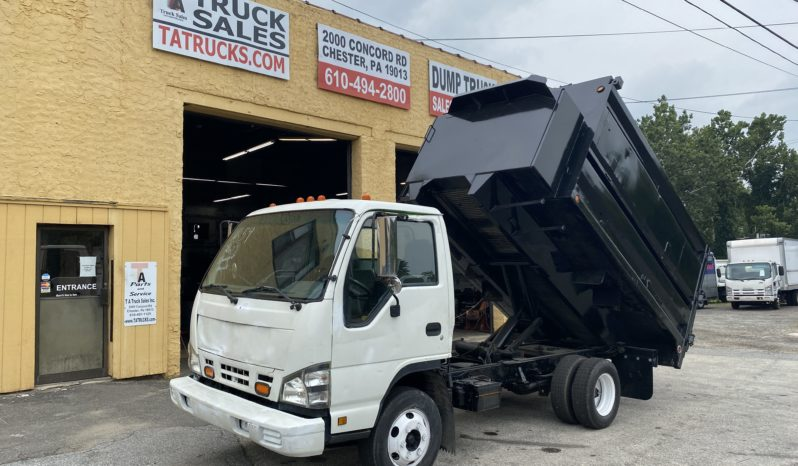 TA Truck Sales Isuzu NPR Junk Hauler 15 Yard Dump (1)